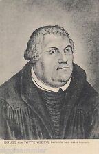 Martin Luther AK alt Gemälde Lukas Cranach Theologie Wittenberg 1611303