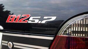 BMW-Alpina-B12-5-7-hinten-Schriftzug-Heckklappe-Rear-Emblem