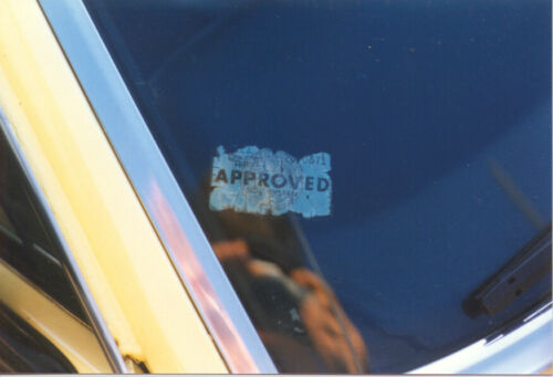 CALIFORNIA CARS CALIFORNIA EMISSIONS NOX SYSTEM APPROVED STICKER WINDOW DECAL