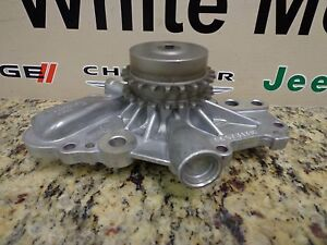 Dodge Chrysler 2.7L 2.7 New Water Pump Cooling Mopar Factory Oem