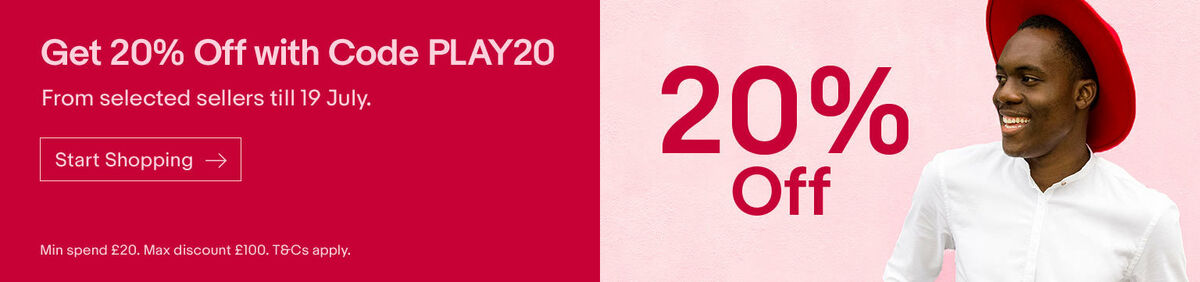 20% off with coupon code PLAY20