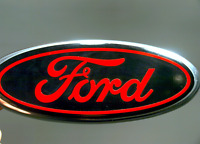 Ford F150 Emblem Overlays Oval Decal Sticker Custom Color Set Any Year/model