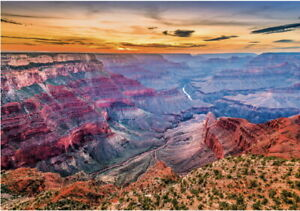 "Puzzle 4000 pieces 136*96cm ""USA. ARIZONA GRAND CANYON"". Step Puzzle 85411."