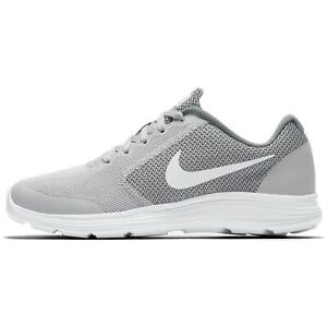 6711d6c4d555 Nike Revolution 3 (GS) 819413-008 Wolf Grey White Youth Boy s ...