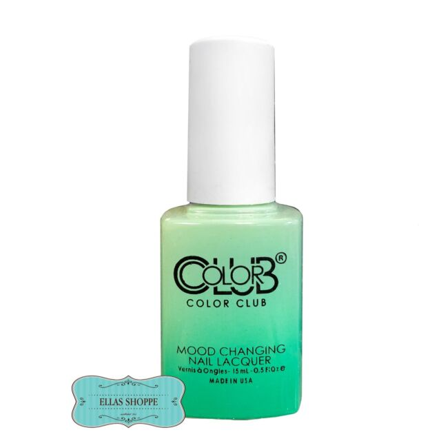 Color Club Mood Changing Nail Lacquer Chill Out Amp21 Ebay