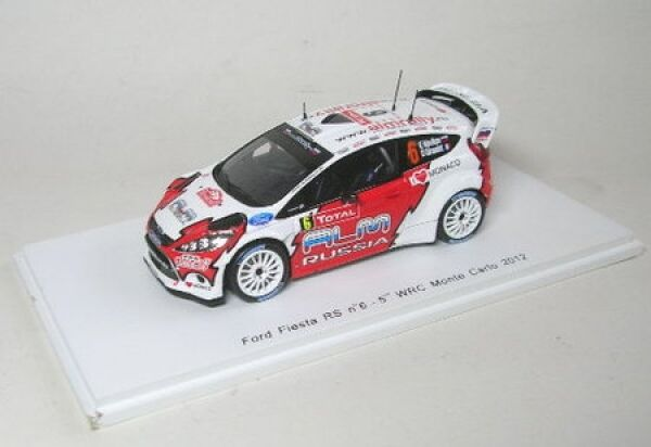 Ford Fiesta RS WRC no. 6 5th Rally Monte Carlo 2012