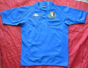 ITALY ITALIA RUGBY UNION home jersey shirt KAPPA 2007-2009 Azzurri ... c1318c111