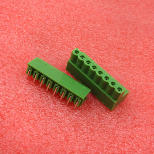 5Pairs//10Pairs 2EDG 8Pin Plug-in Screw Terminal Block Connector 5.08mm Right Ang