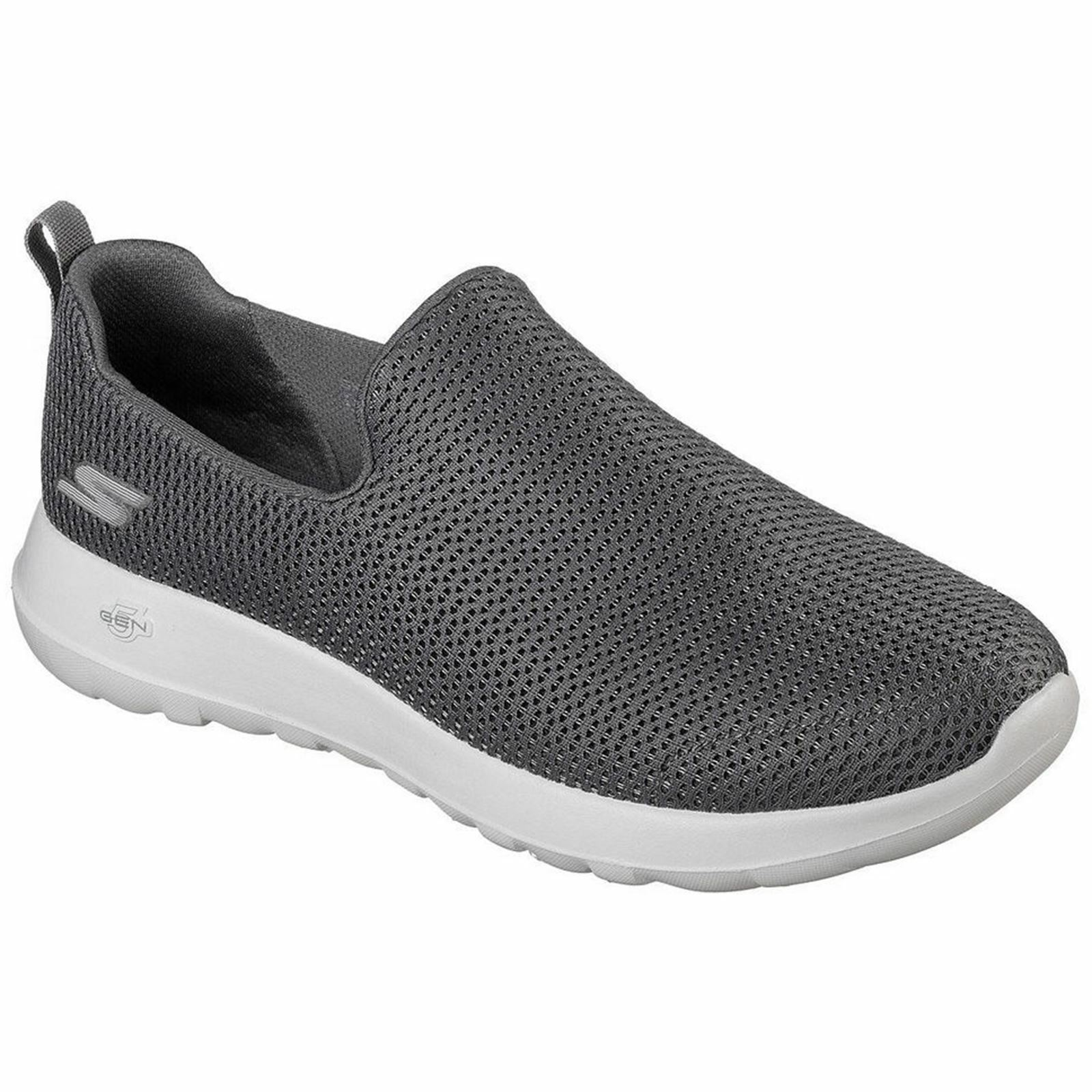 Skechers GO Walk Max Charcoal Mens Mesh Slip-on Low-top Sneakers Trainers