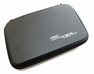 NEW-Nintendo-3DS-XL-and-New-3DSXL-Black-Carry-Case-Bag-Pouch-UK-Seller