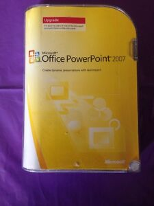 MICROSOFT-POWERPOINT-2007-UPGRADE-RETAIL-VERSION-GENUINE-WITH-PRODUCT-KEY
