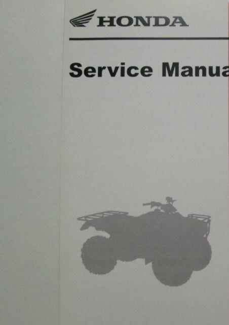 honda trx 250r service manual repair 1986 1989 trx250r