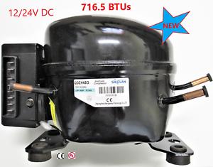 12V//24V DC Refrig Compressor Fridge Freezer RV//Marine Solar QDZH65G R134a