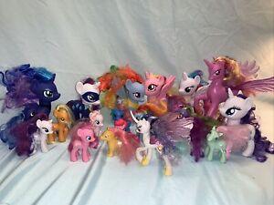 Huge lot of 20 G3 Gen 3 G3.5  & G4 Ponies My Little Pony MLP Hasbro B2