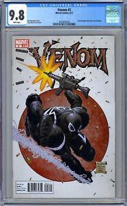 CGC 9.8 Venom #2 (June 2011, Marvel) Amazing Spider-Man #300 cover homage.