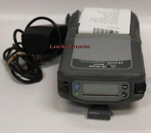 Zebra QL320 Series Mobile Thermal bluetooth Printer Q3B-LUBAV000-Z0 Battery P/S