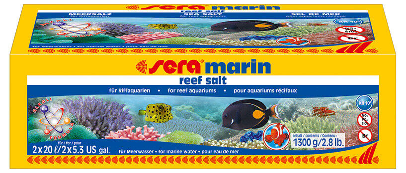 scelte con prezzo basso Pacco da 3 Sera Marin Reef Salt, Salt, Salt, 3 x 3.900 G  sconto online di vendita