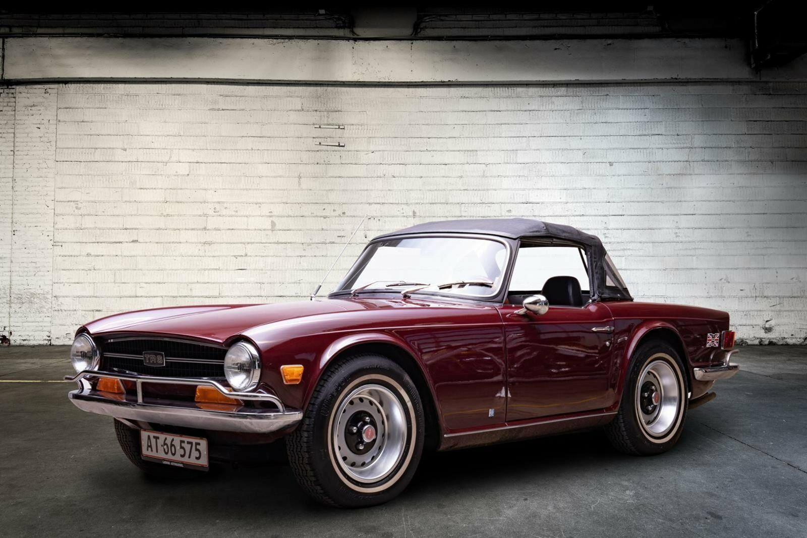 Triumph TR6 2,5 Cabriolet 2d