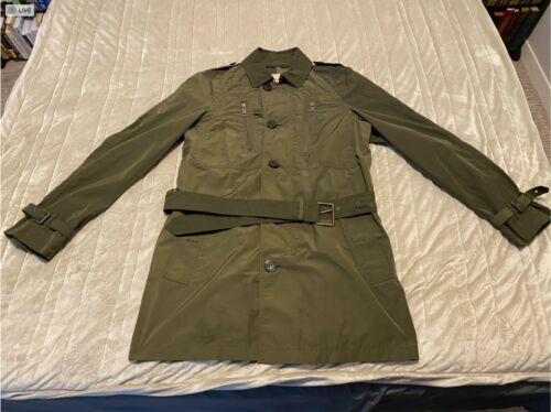 60% OFF Men's Vintage Burberry Olive Green Trench