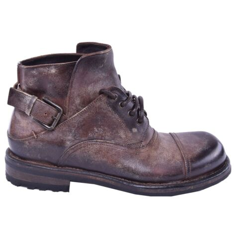 Schuhe Gabbana Dolceamp; Stiefeletten Optik 03839 In Used Boots Dunkelbraun EbD29YeWHI