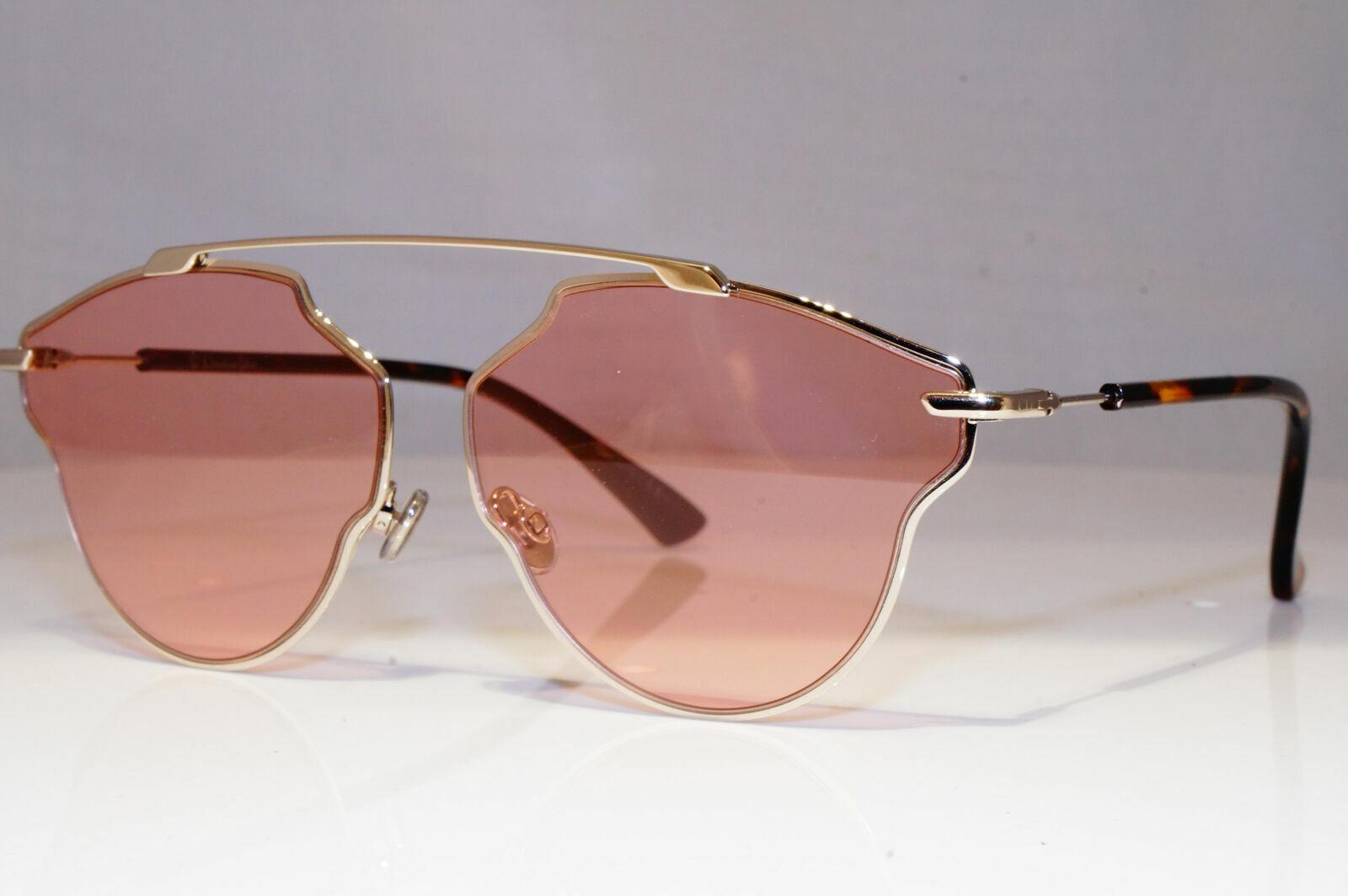 Authentic DIOR Womens Sunglasses Silver Square PERFECT So Real Pop 25620