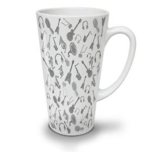 Instrument Bass Music NEW White Tea Coffee Latte Mug 12 17 oz | Wellcoda