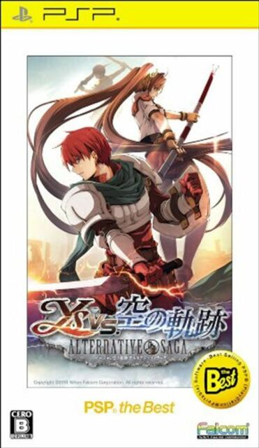 Used PSP Ys vs. Sora no Kiseki: Alternative Saga PSP the Best Japan Import