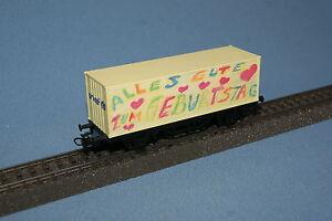 Marklin-4481-DB-Container-Car-Weissella