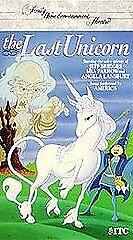 The Last Unicorn VHS 1994 Animated Mia Farrow Jeff Bridges Lansbury America - $2.40