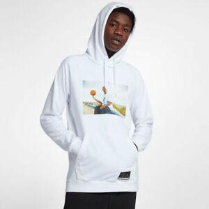 Details about Mens Jordan He Got Game HGG Pullover Hoodie AV6352 100 White NEW Sz 3XL