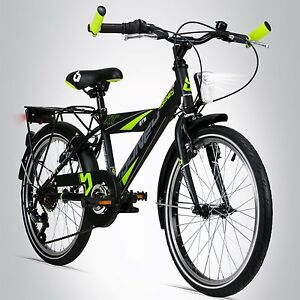 20 zoll kinderfahrrad bergsteiger sydney stvzo shimano. Black Bedroom Furniture Sets. Home Design Ideas