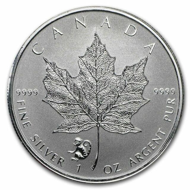 2016 1 oz Canada Silver Maple Lunar Monkey Privy Coin (Reverse Proof)
