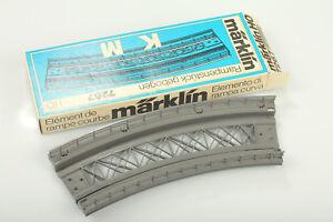 Marklin-H0-7267k-M-Rampa-Curvo-Suciedad-Schrankfund-2