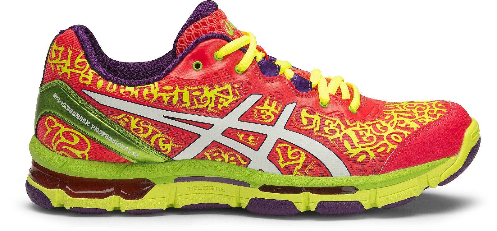 * NEW * Asics Gel Netburner Professional 12 Womens Netball Shoe (B) (2001)