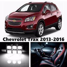 13pcs LED Xenon White Light Interior Package Kit for Chevrolet Trax 2013-2016