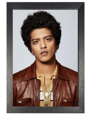 Bruno Mars 4 Photo American RnB Star Pop Singer Picture Songwriter Music Poster