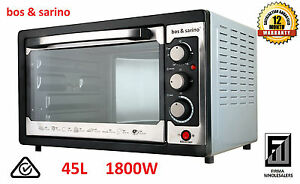 BOS-amp-SARINO-45L-Convection-Rotisserie-Electric-BenchTop-or-Inbuilt-Best-Oven