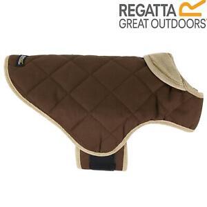 Regatta Chillguard Insulated Shower Resristant Fleece LIned Dog Coat