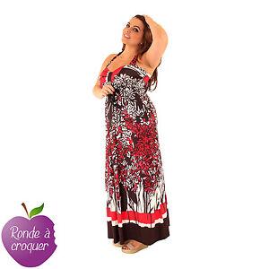 Grande-taille-Maxidress-dos-nu-imprimee-Ashanti-Lili-London-44-46-48-50-52-54