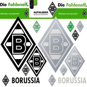 Edel Aufkleber Borussia Mönchengladbach 3d Schwarz Silber