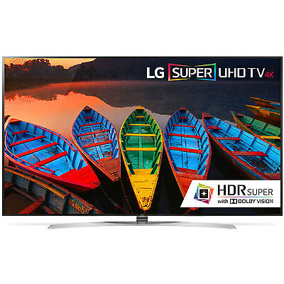 LG 65UH9500 65 in HDR 240Hz Smart TV 4K Slim 3D