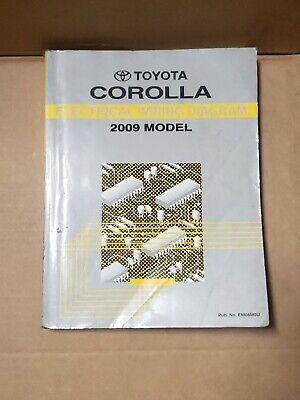 2009 Toyota Corolla Shop Service Electrical Wiring Diagram ...