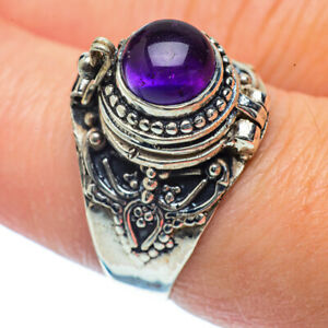 Amethyst-925-Sterling-Silver-Ring-Size-8-25-Ana-Co-Jewelry-R36408F