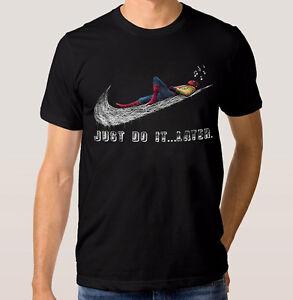 Spider-Man-Just-Do-It-Later-T-Shirt-Tom-Holland-Men-039-s-Women-039-s-Premium-Tee