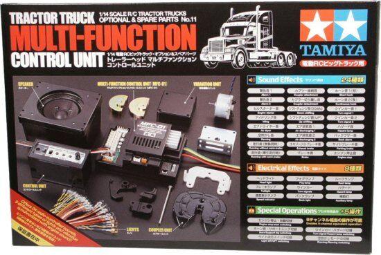TAMIYA 1 14 RC Trattore  Camion Multi-diverdeimentozione unità di controllo   56511  miglior reputazione
