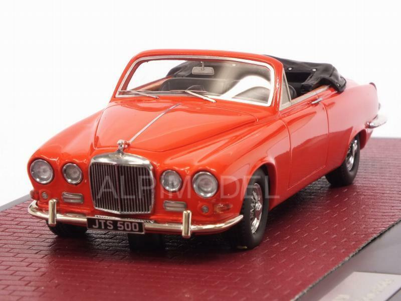 Jaguar 420 Harold Radford Convertible 1967 Red 1:43 MATRIX MX41001-092