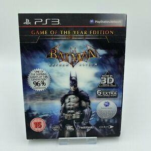 Batman-Arkham-Asylum-GOTY-Edition-3d-Huelle-Brille-Sony-Playstation-3-ps3-PAL