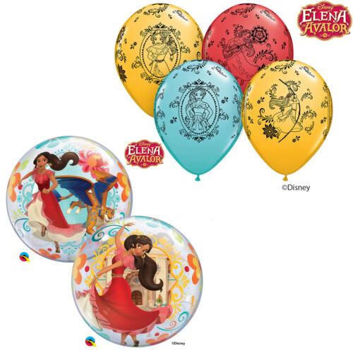 Kids Birthday//Party DISNEY ELENA OF AVALOR Qualatex Latex /& Bubble Balloons