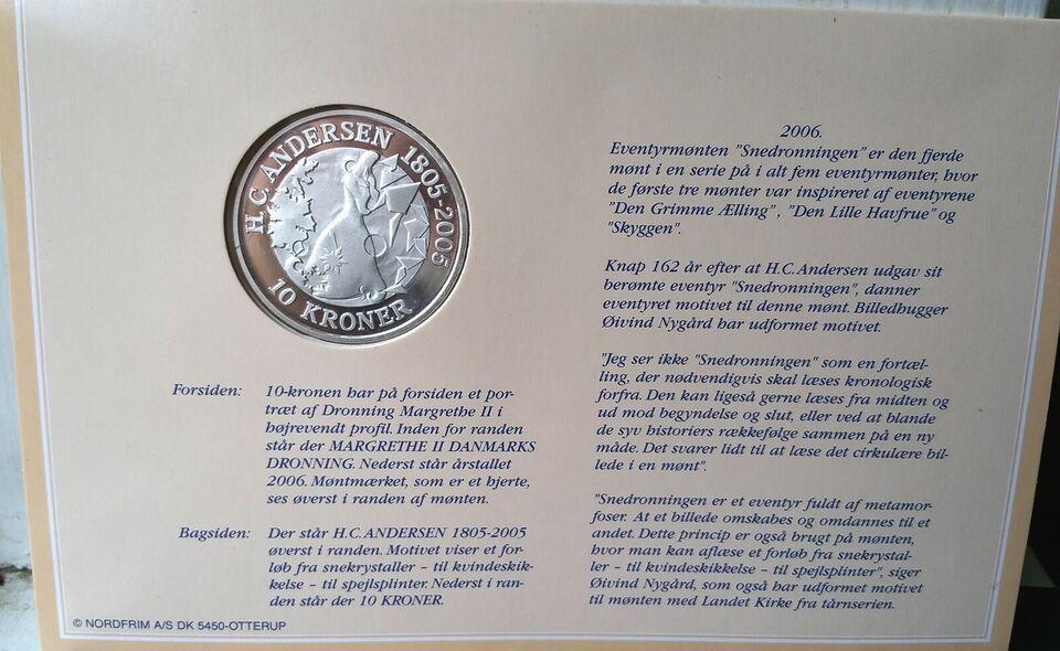 Danmark, mønter, 2006