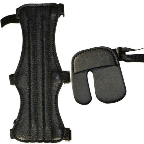 Pfeil Bogenschießen Arm Schutz Weich Finger Schutz Stütze Außen Übung
